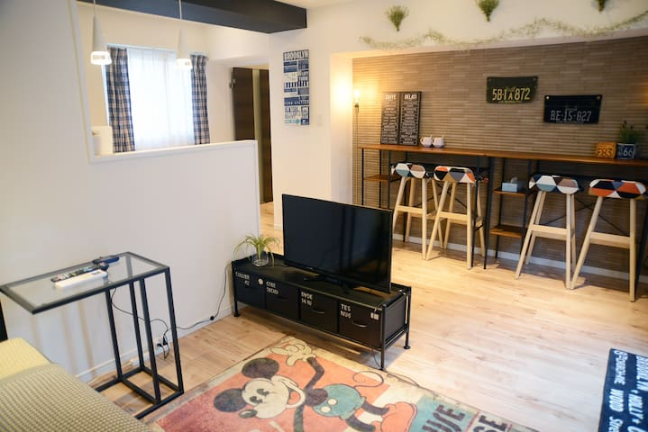 ★2min to JR★ Boutique apt. in central Tokyo for 6p - Toshima-ku - Квартира