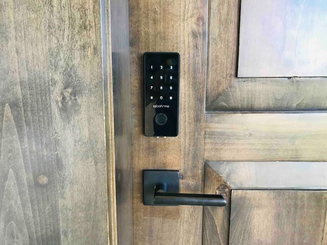 Keyless entry to our CABO home