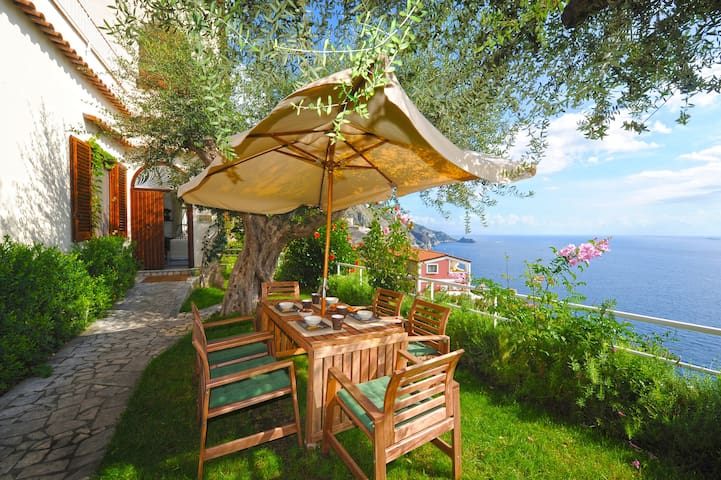PR133-Landscaped garden with fascinating views! - Praiano - Huis