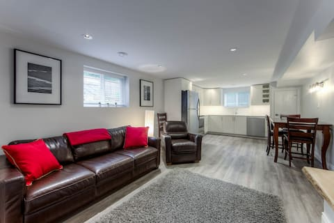 Newly Renovated Cozy Bsmt Suite with Sprt Entrance