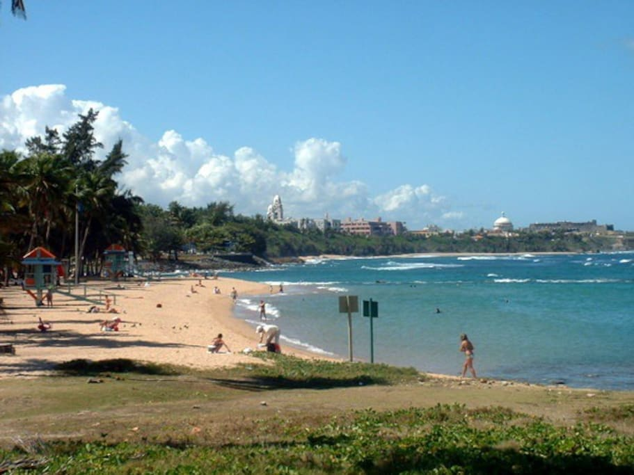 Escambrón Beach - just a few minutes away from the apartment