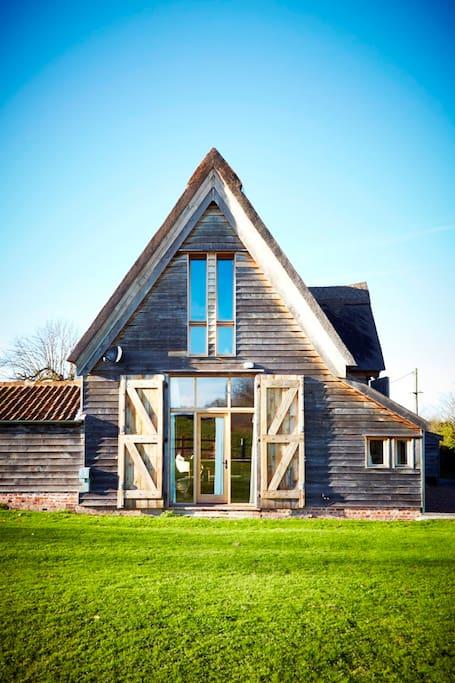 Alfred's Barn @ Grove Farm wwwholidayfarmhousecouk