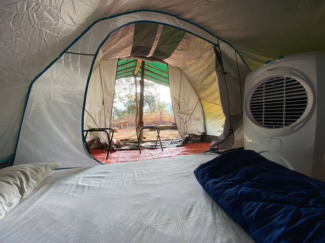 Standard Tent with all meals@Khodala, Igatpuri.