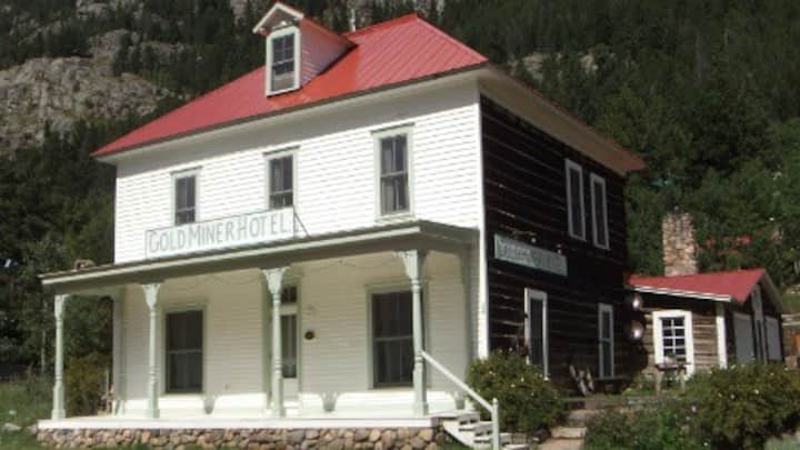 The First Floor at the historic Goldminer Hotel