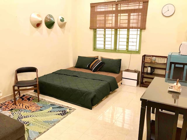 Cozy Local Style Condo near Ben Thanh & Bui Vien