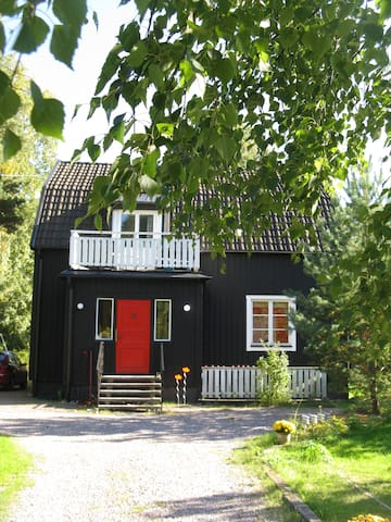 The Black House - Swedish suburbia!