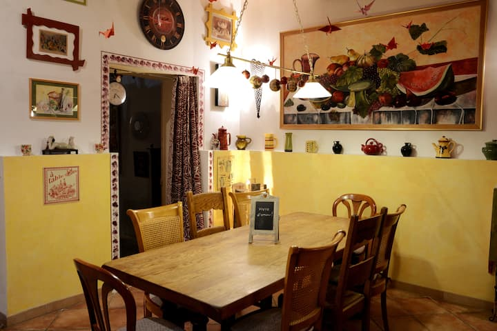 Bed & Breakfast de charme dans village au calme
