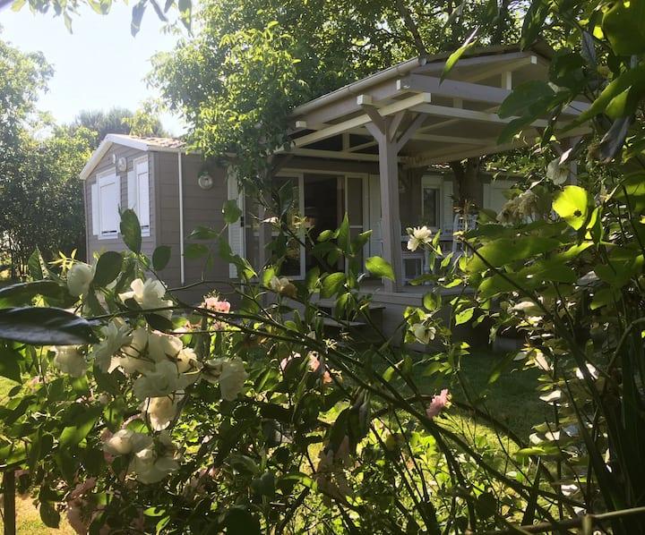 Maisonnette au charme fou - Piscine chaude&Nature