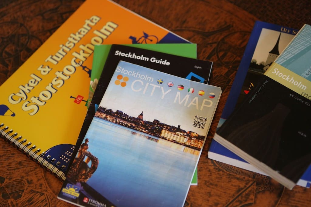 I have maps and some other tourist information for you to borrow
