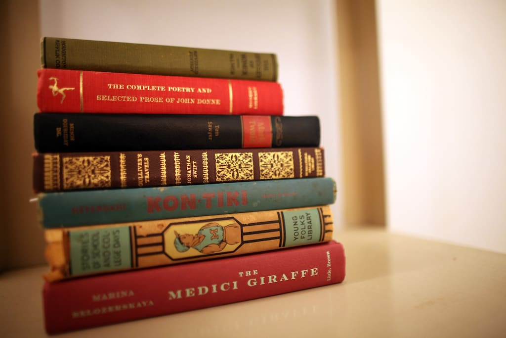 Care for some light reading during your stay?