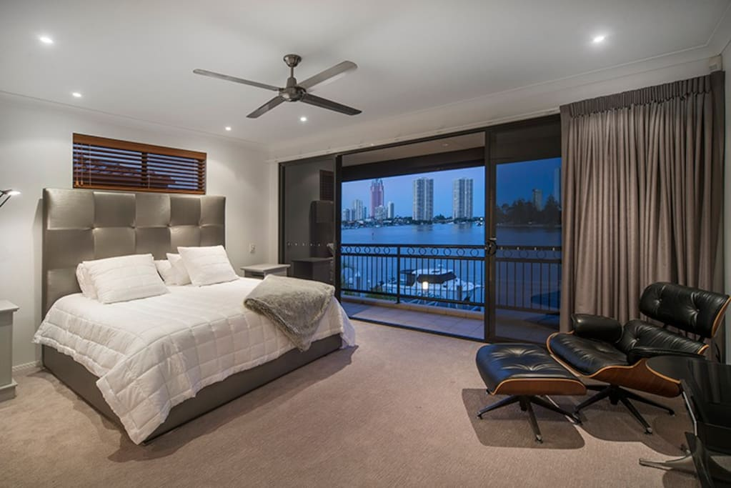Well appointed Master bedroom.