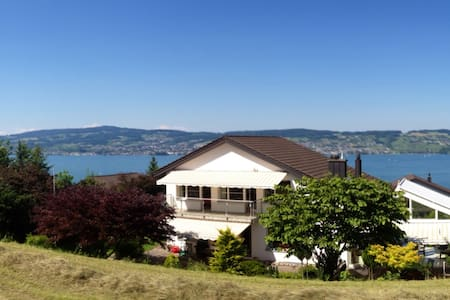 Best lake-view room w/ own bathroom - Wädenswil - House