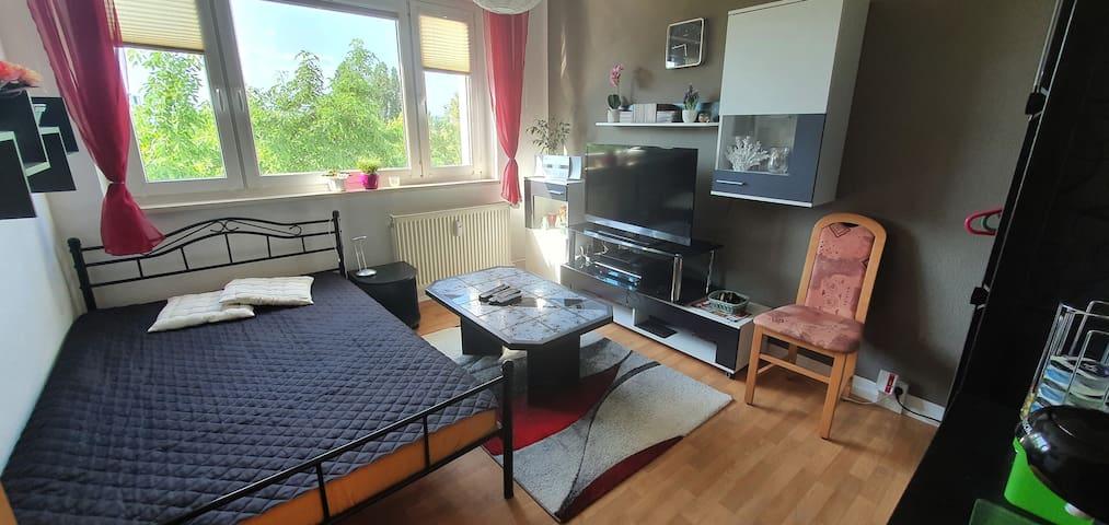 gemütliches Zimmer im Erfurter Norden