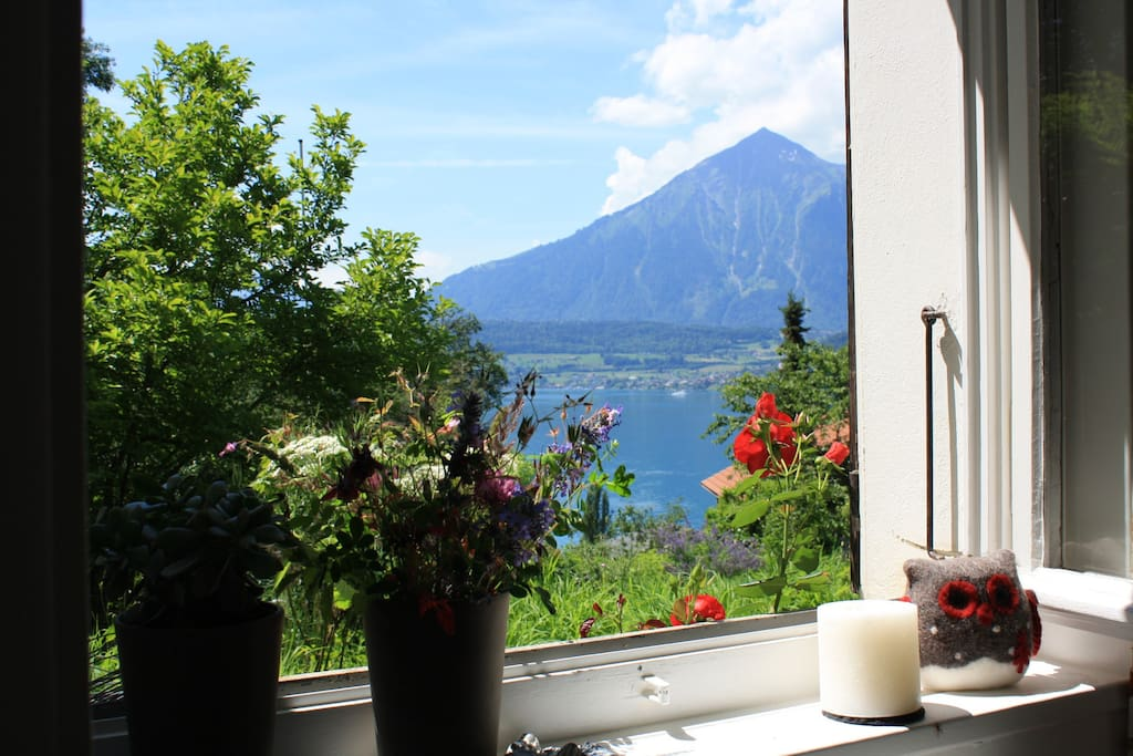 Blick aus dem Gästezimmer - View out of the Gast Room