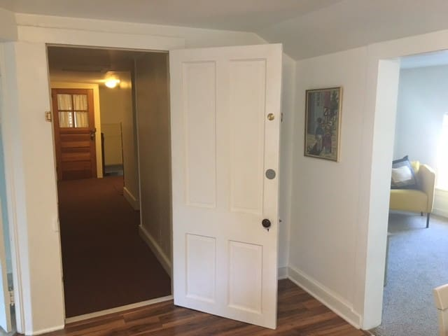 Private Interior Exit to Main Part of House
