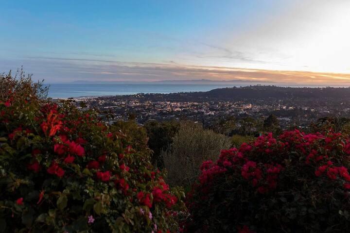 Santa Barbara Home with panoramic views!