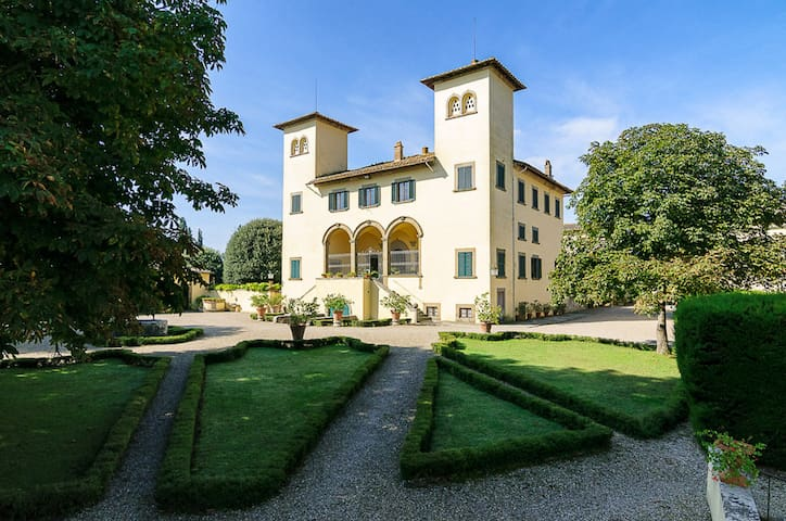 17th Century Tuscan Villa - Montagnano - Villa