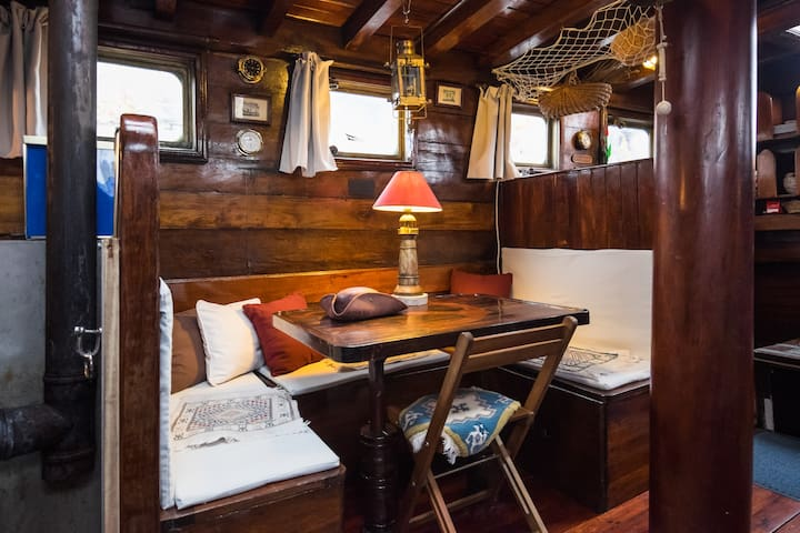Welcome on don Silvano schooner board - Arzon  - Barco