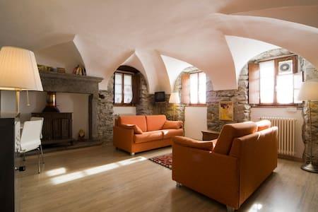 antica casa del 1721 Premia Terme - Cadarese - Daire