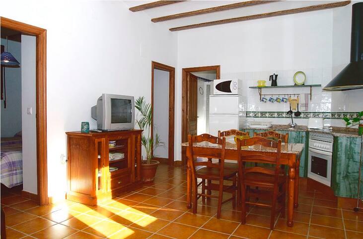 Appartement 4 in een oude meelmolen
