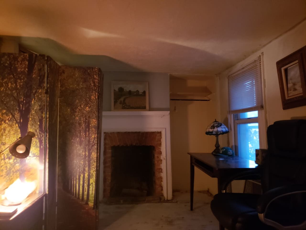 Cozy bedroom located in beautiful Fishtown with a comfy mattress, and fireplace