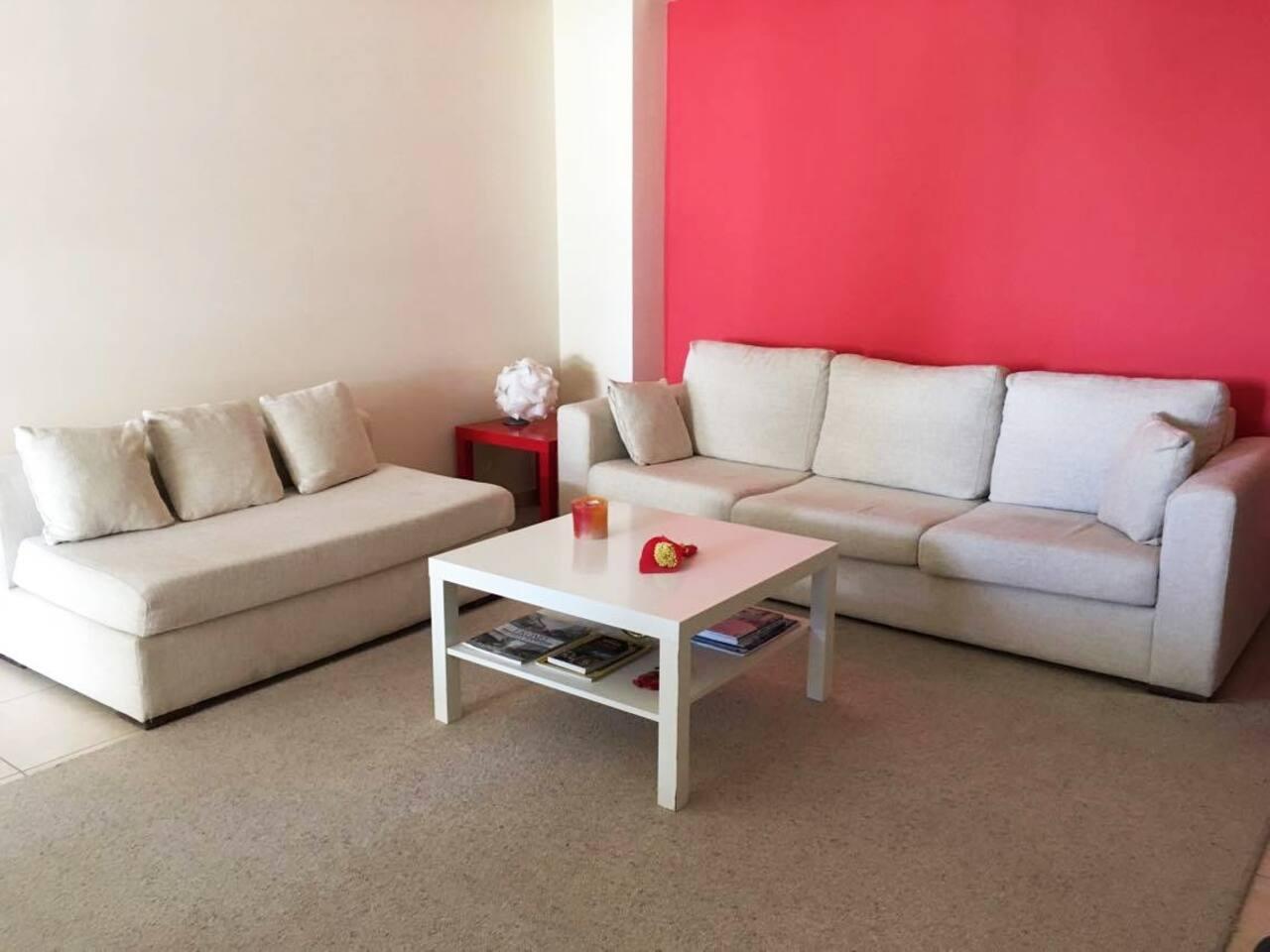 Σαλόνι, Living room