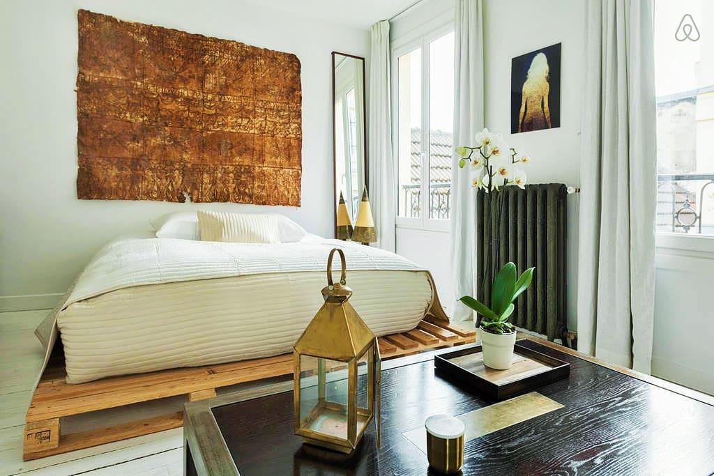 Luxury design app canal st martin appartementen te for Design appartement frankrijk
