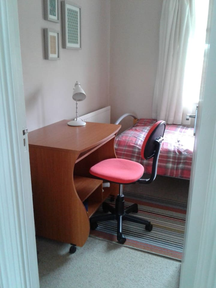 it's a very cosy room, very near Maynooth town
