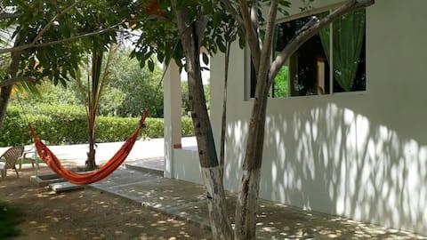 Cabina 2 a la millor platja de Coveñas
