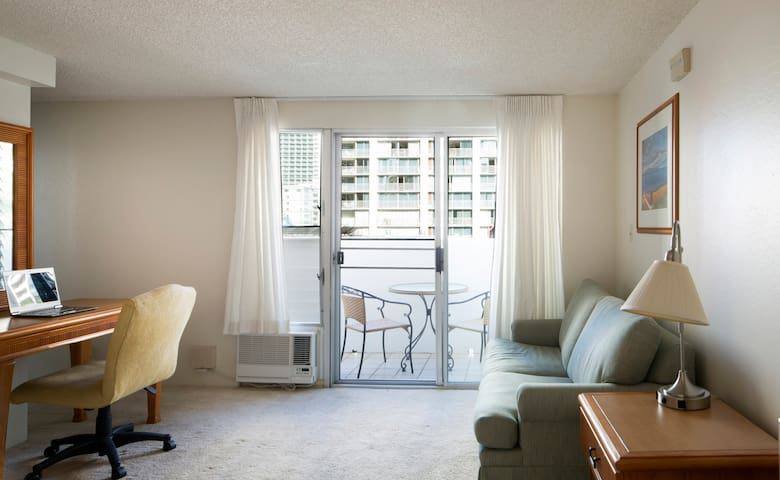 Studio Apartment in Central Waikiki - Honolulu - Wohnung