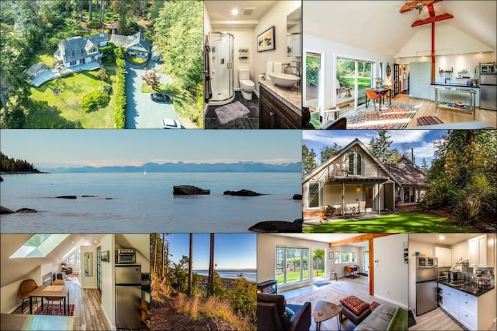 Oceanfront Retreat Suites, Gulf Islands, BC (#1)