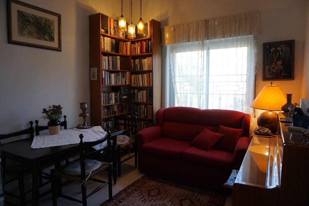 living room & kitchen (see next slide)