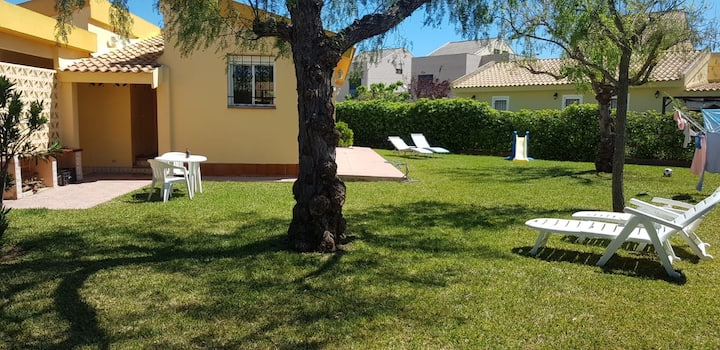 Valencia plage Vila 3 chambres 2 wc, grand jardin