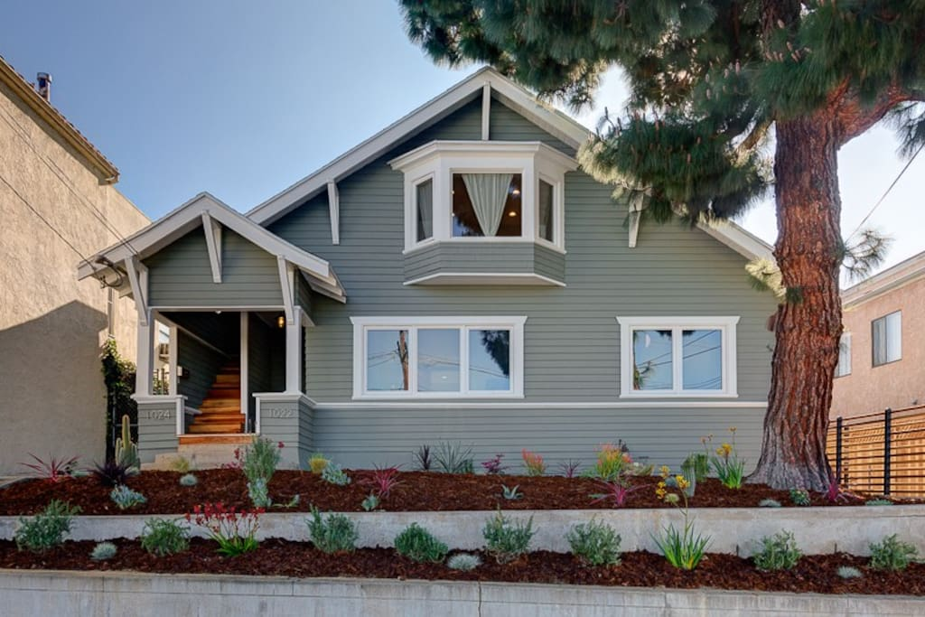 Charming and modern Sunset Junction craftsman