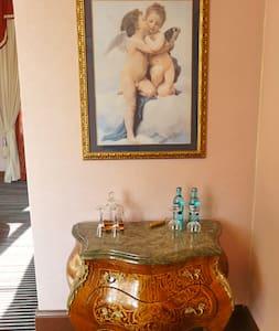 Romantisches Doppelzimmer im Grünen - Slott