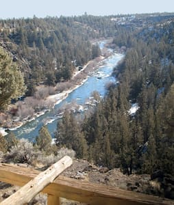 Right On The River at Canyon Rim! - Bend - Hus