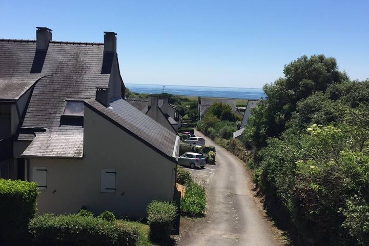 Golfe du Morbihan, mer, location appartement RDC