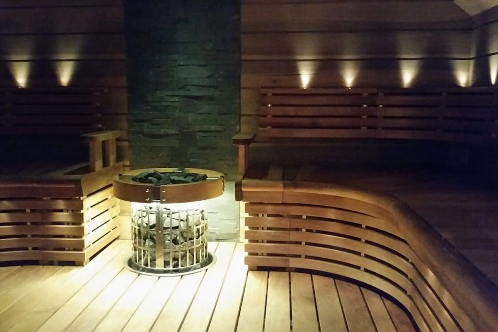 Absolutely great sauna