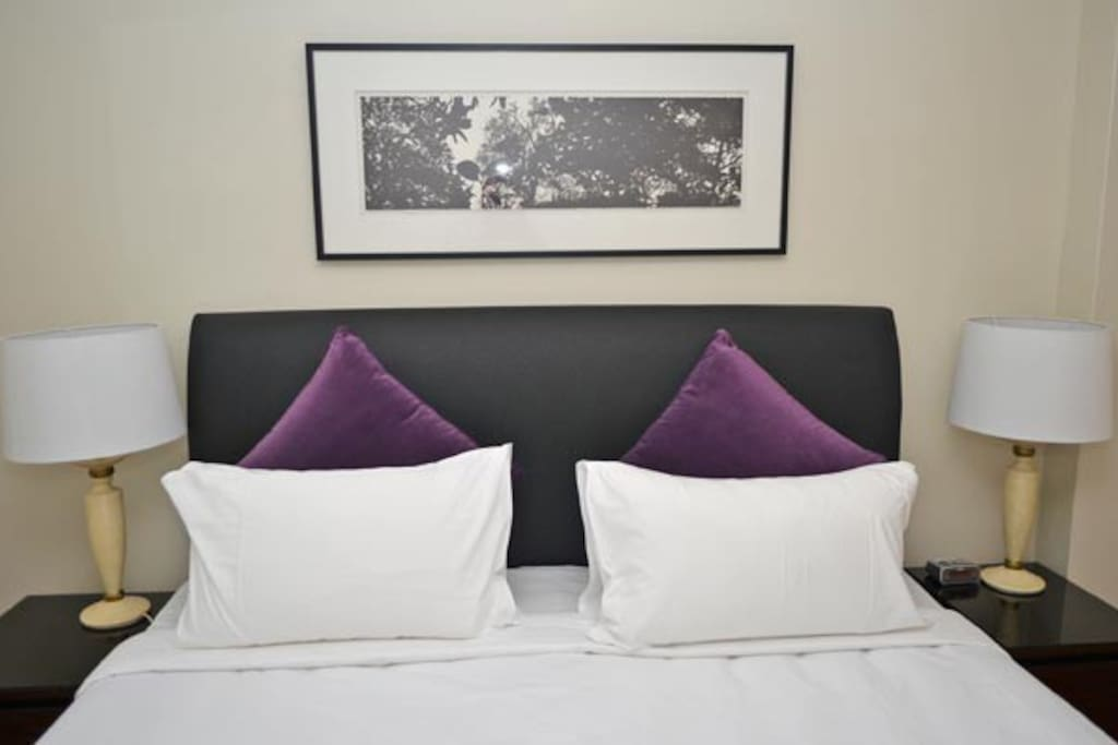 Main Bedroom: King Bed (can be configured as 2 singles