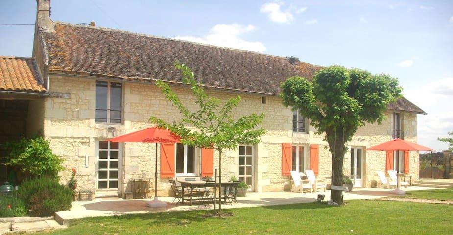 Domaine Les Fontaines - Nueil-sous-Faye - Casa