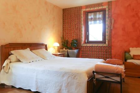 CHAMBRE AVEC SDB PRIVEE A LA FERME  - Saint-Thibault-des-Vignes