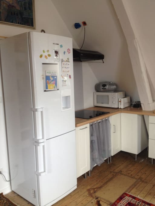 PLAN CUISSON/MICRO ONDE/FRIGIDAIRE/GRILLE PAIN