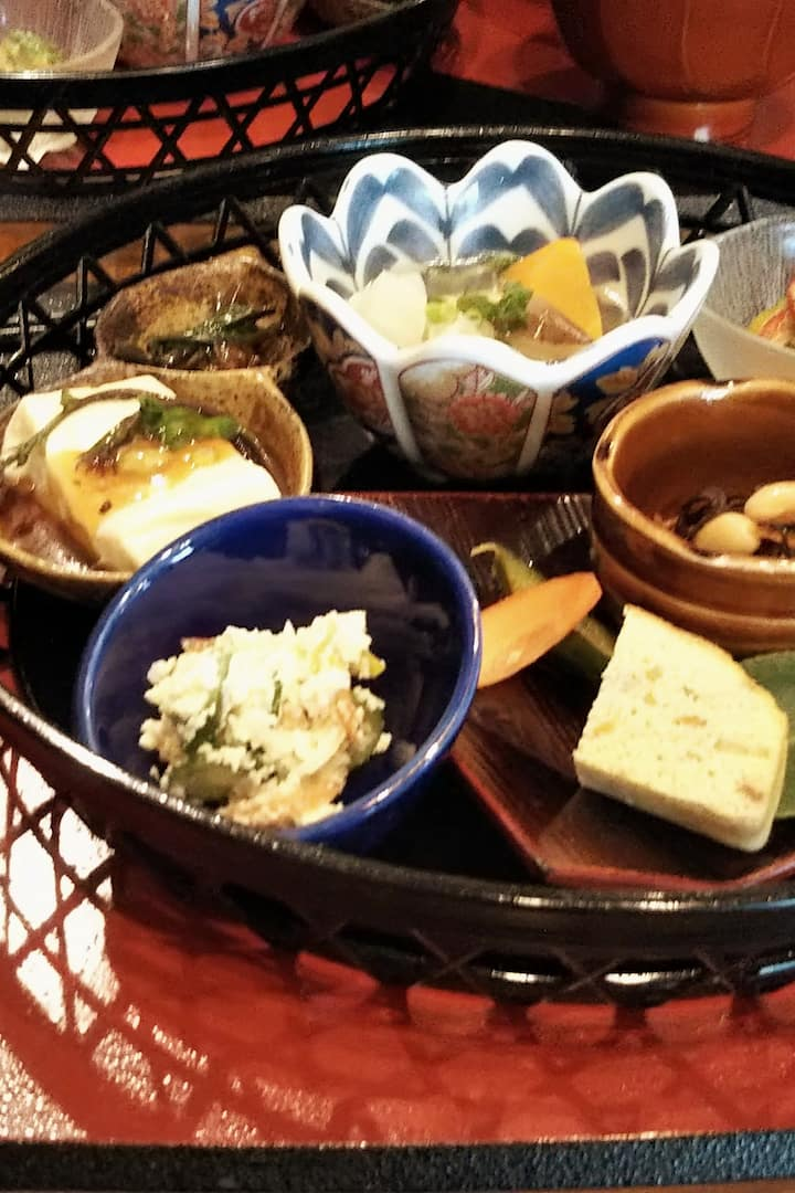 full course Japanese meal included !