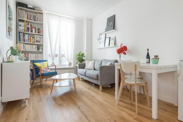 Charmant 2 pièces calme et lumineux - Paris - Apartment