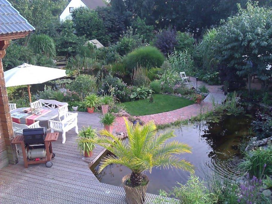 Ein kleiner Überblick über den Garten.