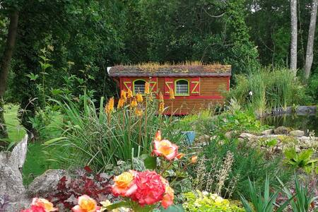 "The gypsy caravan ""Rouges Fougères"" - Bed & Breakfast"