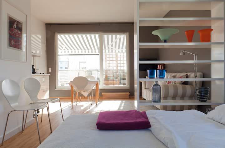 Zimmer mit Küche/Bad, MHH/Messe