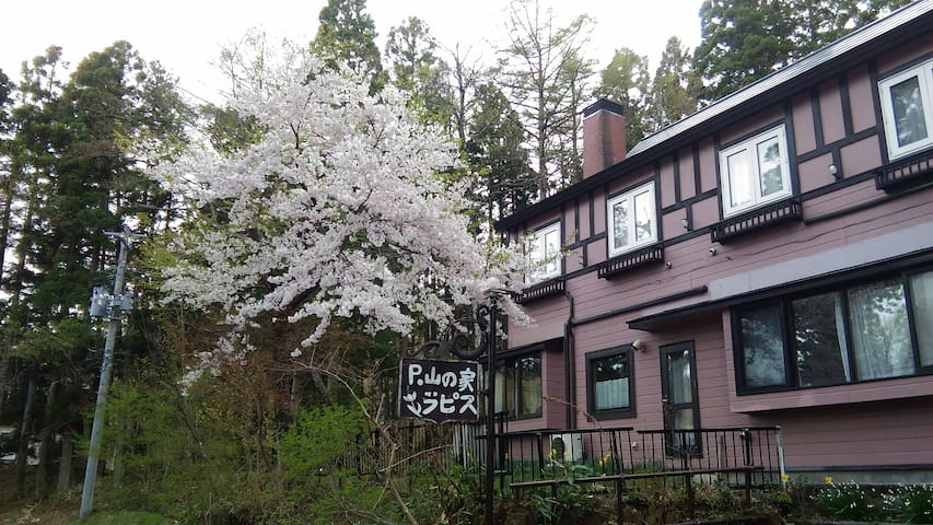 beautiful B&B in Zao with hot spring(4)
