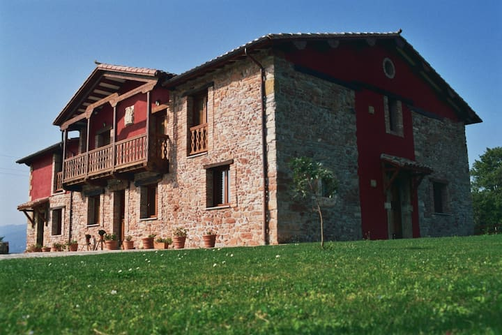Apartamentos rurales con encanto 1 habitación - Villaviciosa - Leilighet