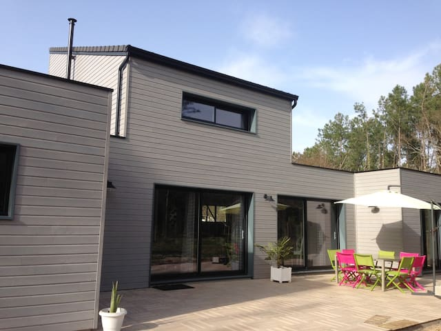 Chambre entre mer et forêt - Linxe - Huis